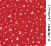 Snowflakes Seamless Pattern ...
