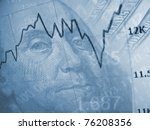 finance background with dollars.... | Shutterstock . vector #76208356