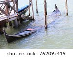 Wreck Of An Old Gondola Sunk I...