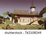 Church Of Sucevita Monastery Is ...