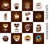 vector logo for coffee | Shutterstock .eps vector #762121651