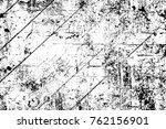 grunge black and white pattern. ... | Shutterstock . vector #762156901