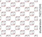 memphis abstract geometric... | Shutterstock .eps vector #762171241