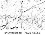 grunge black and white pattern. ... | Shutterstock . vector #762173161