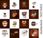 vector logo for coffee | Shutterstock .eps vector #762176521