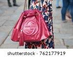 milan   september 22  woman... | Shutterstock . vector #762177919