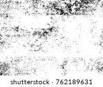 grunge black and white pattern. ... | Shutterstock . vector #762189631
