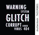 glitch text background   Shutterstock .eps vector #762190801