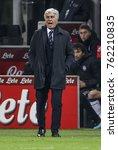 Small photo of Milan, Italy. November 19, 2017. Campionato Italiano di SerieA, Inter-Atalanta 2-0. Gian Piero Gasperini, coach Atalanta.