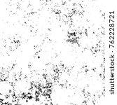 grunge black and white pattern. ... | Shutterstock . vector #762228721
