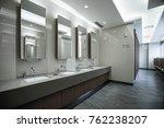 contemporary interior of public ... | Shutterstock . vector #762238207