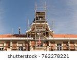 set in a renovations housing in ... | Shutterstock . vector #762278221