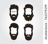 hipster elegant gentlemen... | Shutterstock .eps vector #762279199