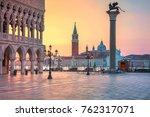 venice. cityscape image of st....   Shutterstock . vector #762317071