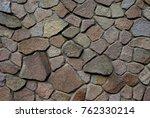 old dynamic rock pattern... | Shutterstock . vector #762330214