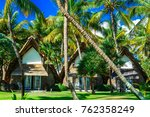 exotic tropical vacation  ... | Shutterstock . vector #762358249
