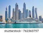 Scenic View Of Dubai Marina...