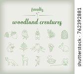 friendly woodland creatures