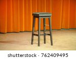 theater  stool at the center of ... | Shutterstock . vector #762409495