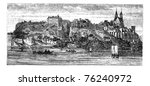 View Of Boats In River With...