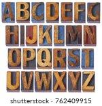 complete english alphabet set   ... | Shutterstock . vector #762409915