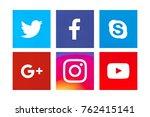 valencia  spain   october 31 ... | Shutterstock . vector #762415141