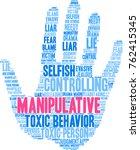 manipulative word cloud on a... | Shutterstock .eps vector #762415345