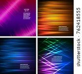 set templates for multipurpose... | Shutterstock .eps vector #762418555