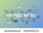 creative infographic banner... | Shutterstock .eps vector #762443215