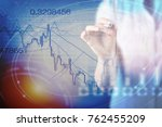 commodity forex trading... | Shutterstock . vector #762455209