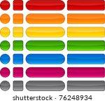 blank web modern buttons.... | Shutterstock .eps vector #76248934