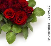 Stock photo red roses 76249132