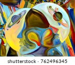 stained glass forever series.... | Shutterstock . vector #762496345