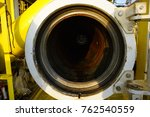 barrel launcher door opened for ... | Shutterstock . vector #762540559