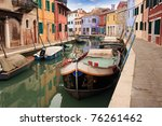 Canal Of Burano  Venice