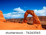 Utah's Famous Delicate Arch In...