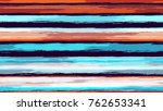 watercolor stripes in grunge... | Shutterstock .eps vector #762653341