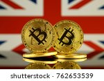 physical version of bitcoin and ... | Shutterstock . vector #762653539