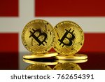 physical version of bitcoin and ... | Shutterstock . vector #762654391