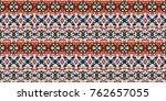 horizontal seamless pattern... | Shutterstock .eps vector #762657055