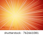 Abstract Orange Red Radial...