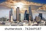 skyscrapers in london. | Shutterstock . vector #762669187