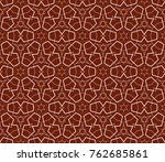 geometric shape abstract... | Shutterstock . vector #762685861