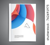color book design with abstract ...   Shutterstock .eps vector #762691975