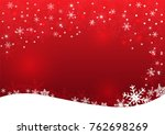 christmas and happy new year... | Shutterstock .eps vector #762698269