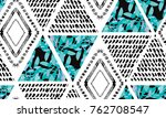 abstract grunge seamless...   Shutterstock .eps vector #762708547