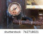 Old Pressure Gauge Rusty...