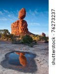 the famous balanced rock in... | Shutterstock . vector #76273237