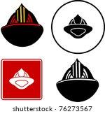 Firefighter Helmet Illustration ...