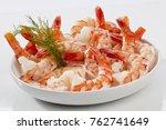 Steamed Jumbo Headless Shrimps...